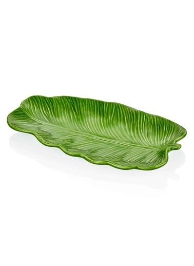 The Mia Dekor Yaprak - 27 Cm Yeşil Yeşil